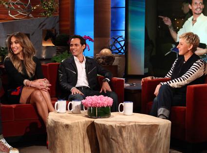 Ellen Degeneres, Jennifer Lopez, Marc Anthony