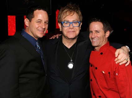 Chris Diamond, Elton John, Wayne Elias