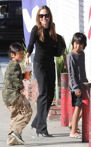 Angelina Jolie, Maddox Jolie Pitt, Pax Jolie Pitt