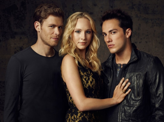 Joseph Morgan, Candice Accola, Michael Trevino, Vampire Diaries