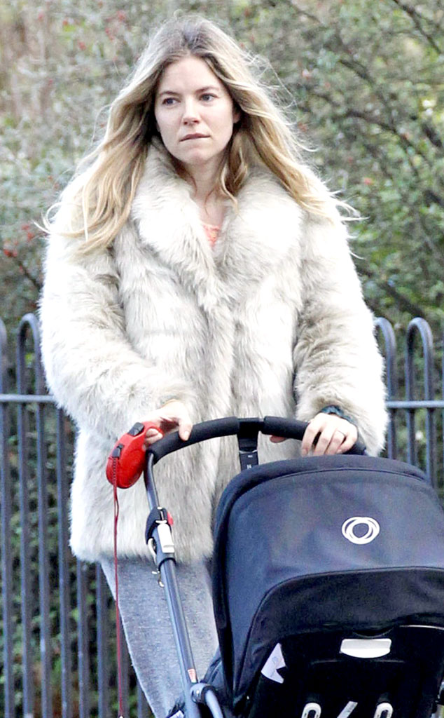 Sienna Miller From Stars Wearing Fur Real Amp Faux E News