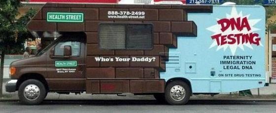 DNA truck