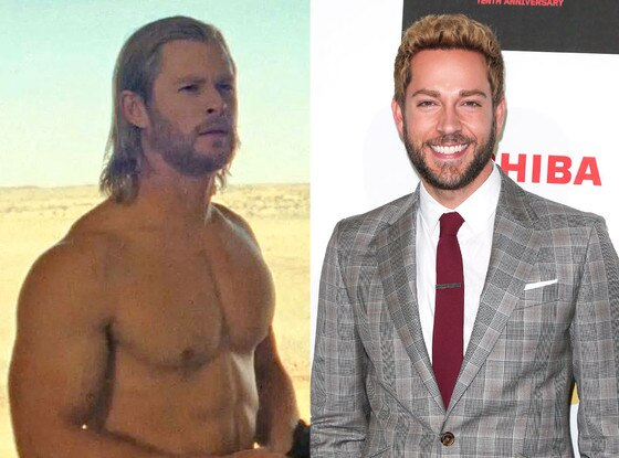 Chris Hemsworth, Zachary Levi