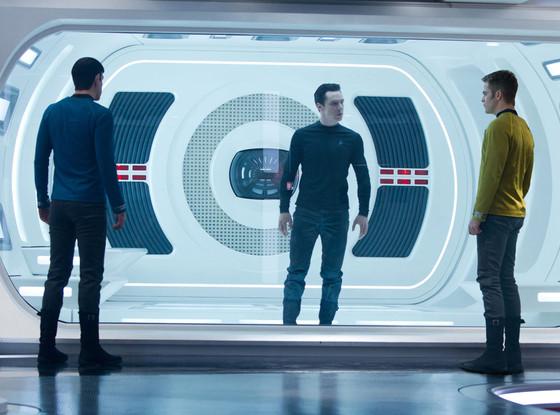 Zachary Quinto, Benedict Cumberbatch, Chris Pine