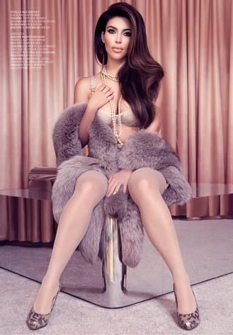 KIm Kardashian, Factice Magazine