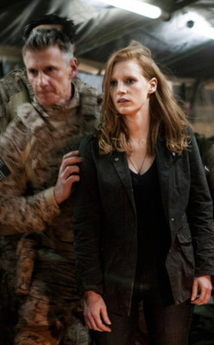 Alex Corbet Burcher, Jessica Chastain, Zero Dark Thirty