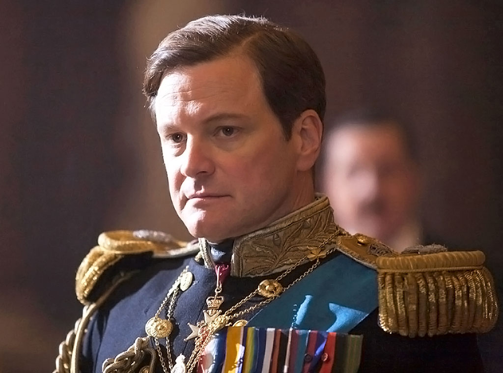The King's Speech, Colin Firth