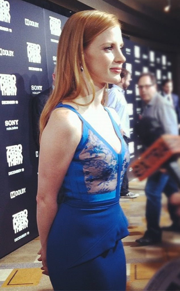 Jessica Chastain, Twit Pic