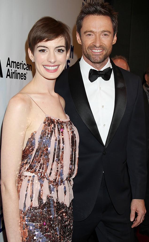 Anne Hathaway, Hugh Jackman