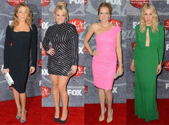 LeAnn Rimes, Miranda Lambert, Jewel, Natasha Bedingfeld, ACA