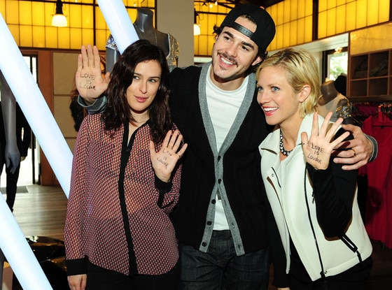 Rumor Willis, Jayson Blair and Brittany Snow