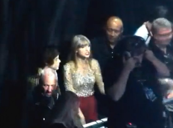 Taylor Swift, Harry Styles - Screengrab