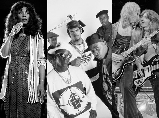 Rush, Donna Summer, Public Enemy