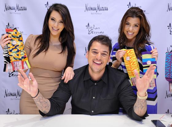 Rob Kardashian, Kim Kardashian, Kourtney Kardashian