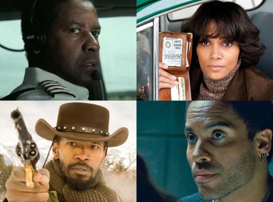 NAACP nominations, Denzel Washington, Flight, Halle Berry, Cloud Atlas, Lenny Kravitz, Hunger Games, Jamie Foxx, Django Unchained