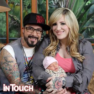 Backstreet Boy A.J. McLean Shows Off Adorable Baby Girl Ava