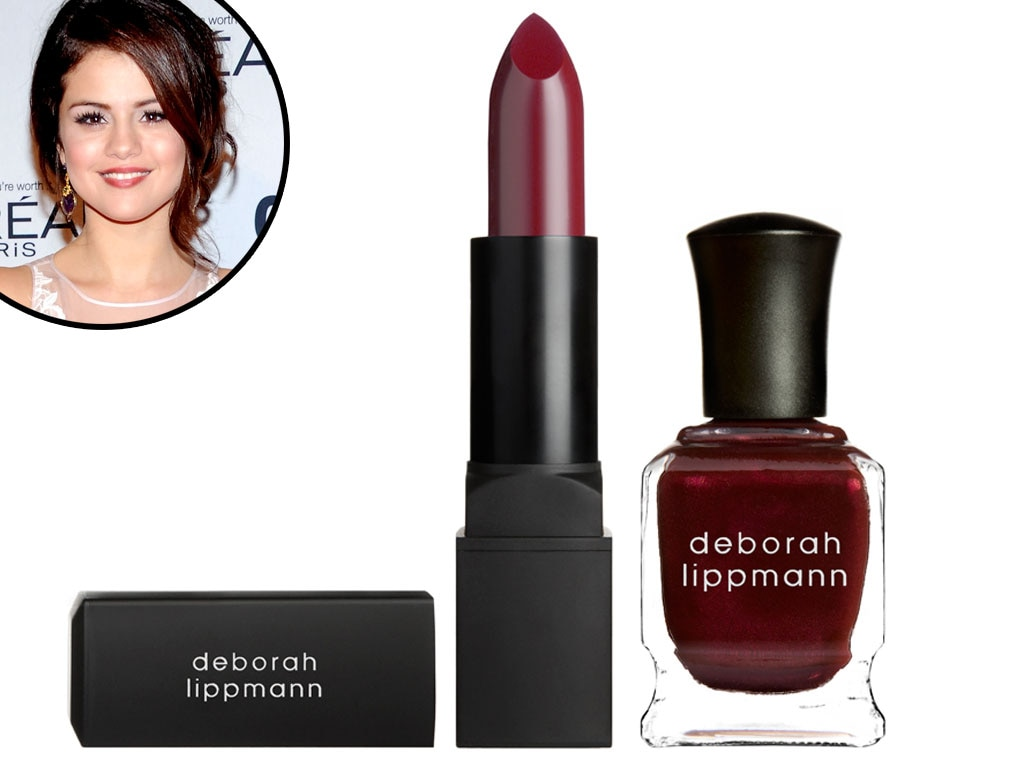 Deborah Lippmann Lip & Nail Duet, Selena Gomez