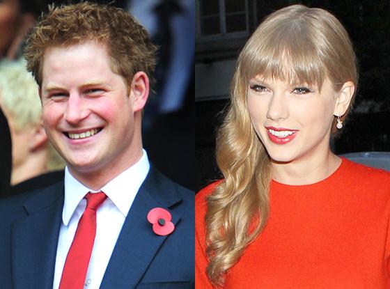 Prince Harry, Taylor Swift
