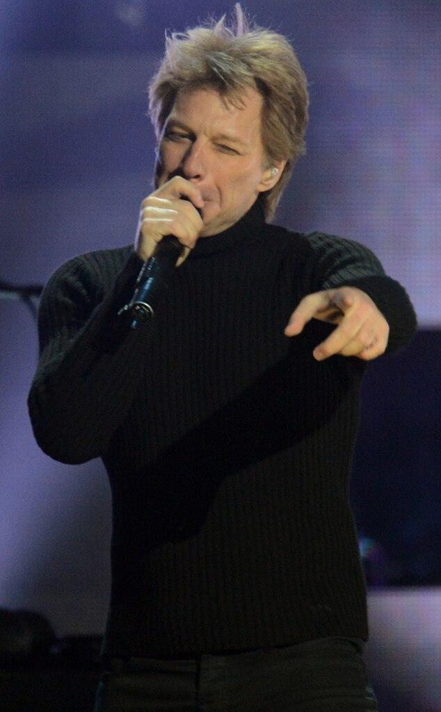 Jon Bon Jovi, Sandy Concert
