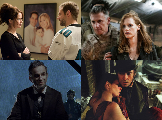 Zero Dark Thirty, Lincoln, Silver Linings Playbook