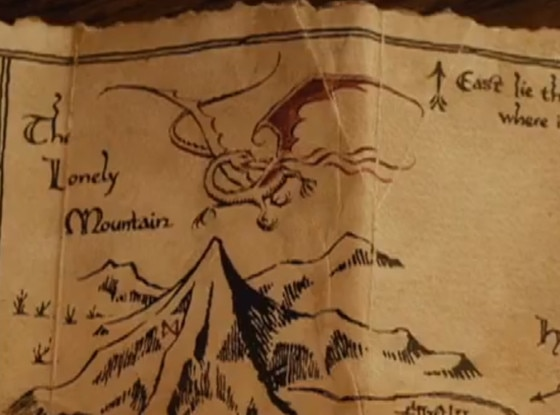 Map, The Hobbit: An Unexpected Journey