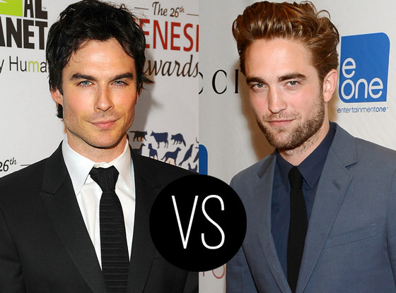 Robert Pattinson, Ian Somerhalder