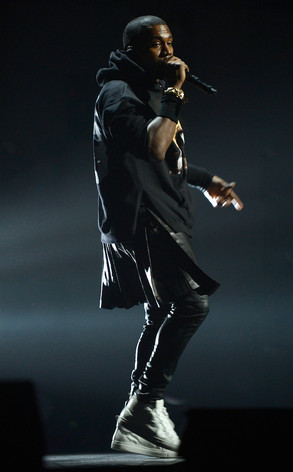 Kanye West, Sandy Concert