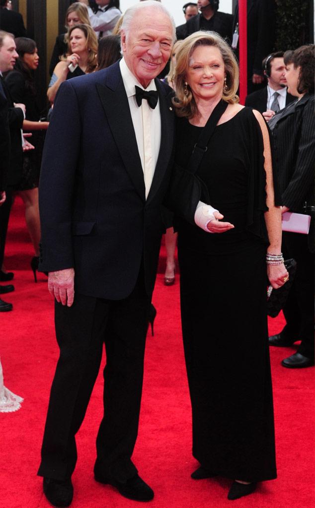 Christopher Plummer, Elaine Taylor