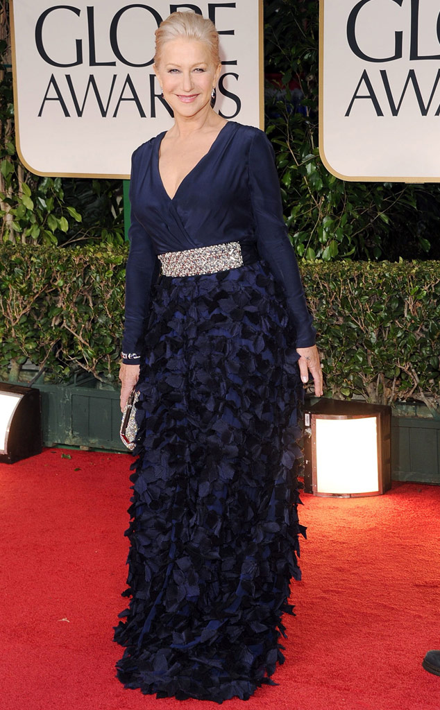 Helen Mirren Golden Globes