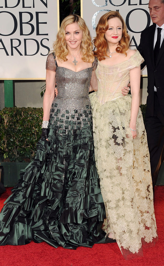 Madonna, Andrea Riseborough, Golden Globes