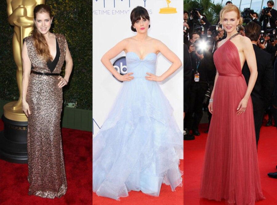 Nicole Kidman, Zooey Deschanel, Amy Adams