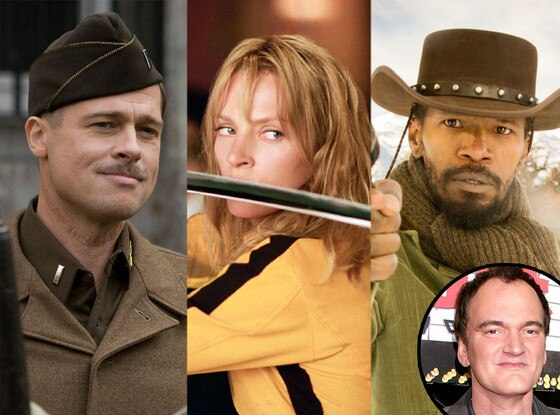 Django Unchained, Kill Bill, Inglourious Basterds, Quentin Tarantino