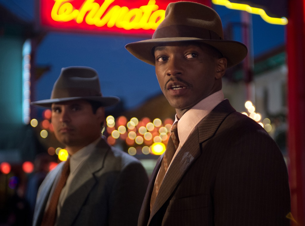 Michael Pena, Anthony Mackie, Gangster Squad