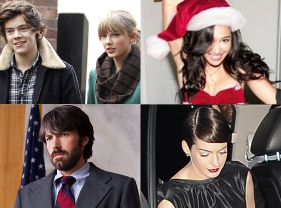 Taylor Swift, Harry Styles, Naya Rivera, Argo, Ben Affleck, Anne Hathaway