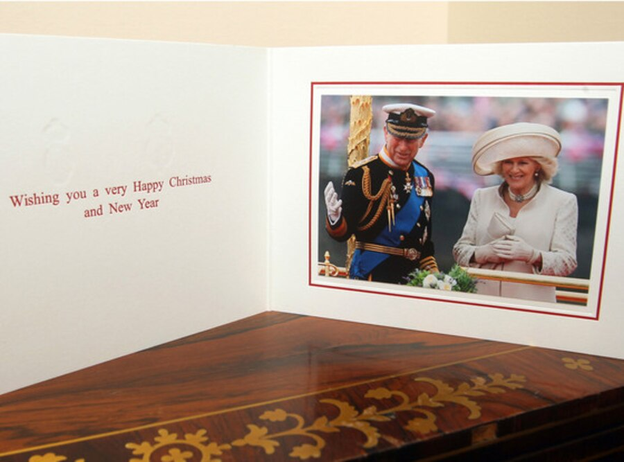 Prince Charles, Camilla, Royal Christmas Card