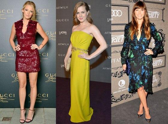 Blake Lively, Amy Adams, Jessica Biel, Gucci