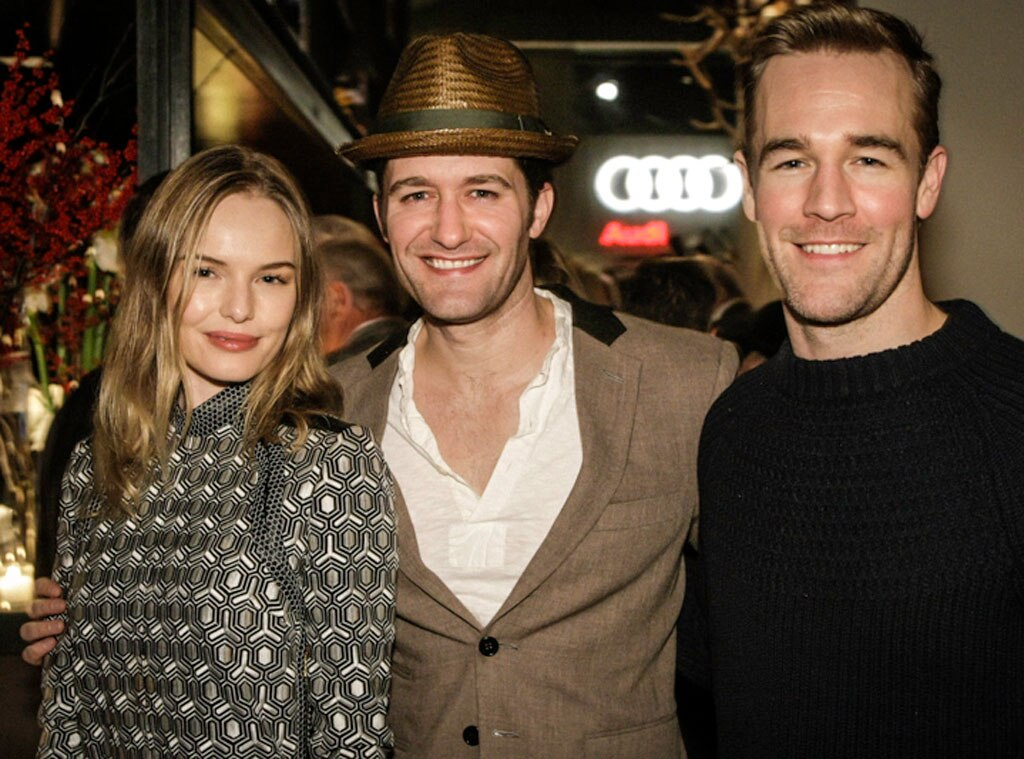Kate Bosworth, Matthew Morrison and James Van Der Beek