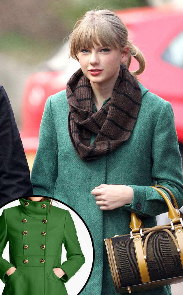 Taylor Swift, Green Coat