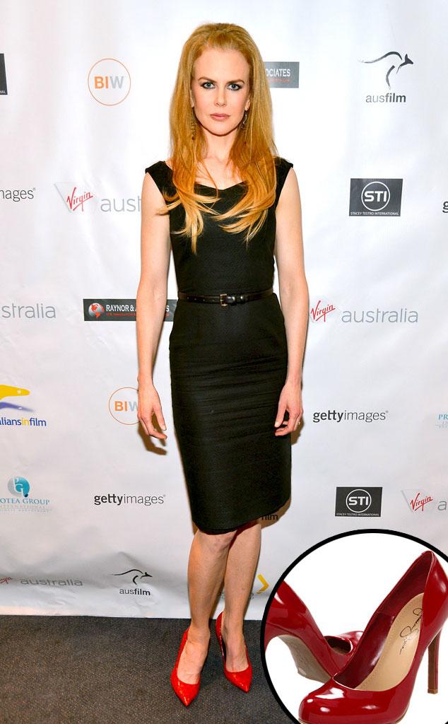 Nicole Kidman, Red High Heels