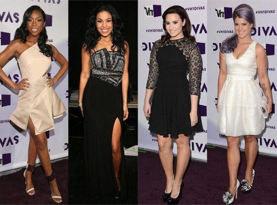 Kelly Osbourne, Demi Lovato, Jordin Sparks, Brandy, VH1 Divas
