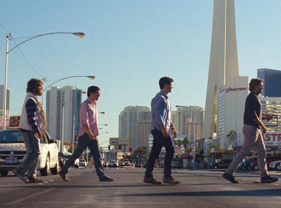 Zach Galifianakis, Ed Helms, Justin Bartha, Bradley Cooper, Hangover 3