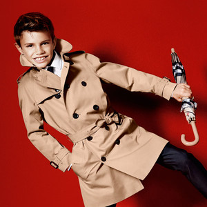 Romeo Beckham's Latest Burberry Ad: Watch David and Victoria's Son in Fashionable Action!