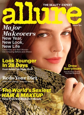 Drew Barrymore, Allure