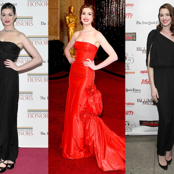 Anne Hathaway From Red Carpet Reliable! Stars With Perfect