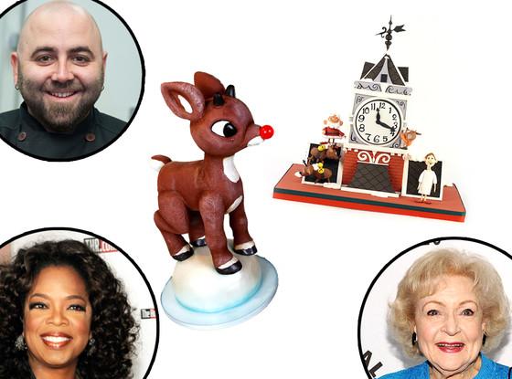 Oprah Winfrey, Betty White, Duff Goldman, Cakes
