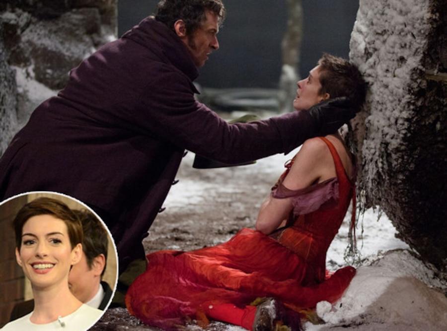 Anne Hathaway, Hugh Jackman, Les Miserables