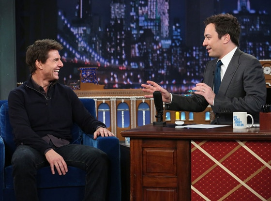 Tom Cruise, Jimmy Fallon
