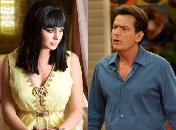 Lindsay Lohan, Liz & Dick, Charlie Sheen, Anger Management