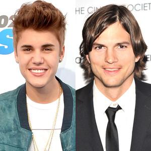 Justin Bieber, Ashton Kutcher