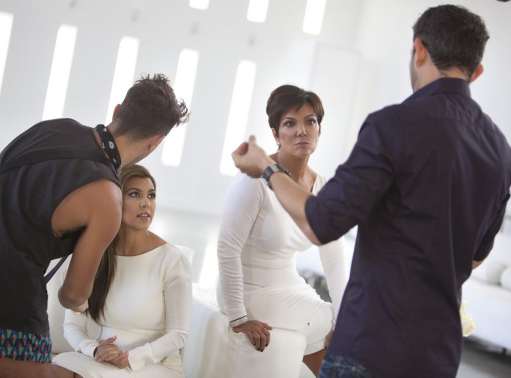 Behind the Scenes, Kardashian Christmas Card